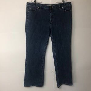 Michael Kors Jeans size 16 stretch denim bootcut